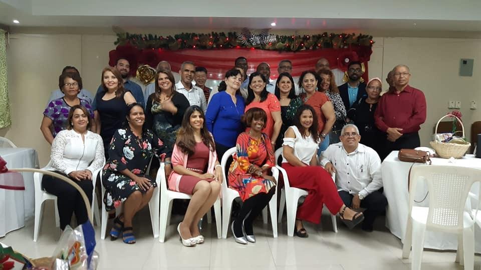 Cena Navideña con los encargados de los diferentes Departamentos Nacionales de la ACyM